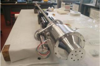 Lunar ice drill