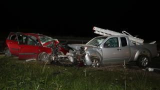 Crash at Daviot