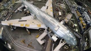 दुनिया की सबसे बड़ी इमारत, बोइंग विमान