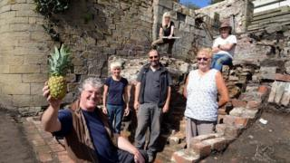 Dig at Auckland Castle