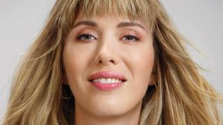 Paris Lees in advert for Pantene