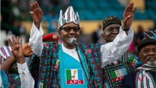 Shugaba Buhari na neman wa'adi na biyu ne a Najeriya