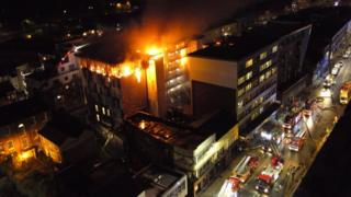 Bolton flats blaze: Students to be re-housed as £10,000 raised
