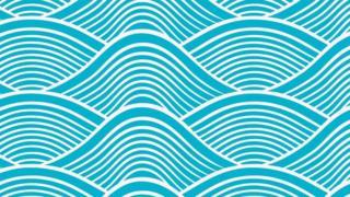 Ilustração de ondas