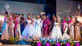 Nishimwe Naomie (31) niwe yatowe nka Miss Rwanda 2020
