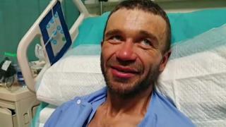 Alexander Gukov en el hospital