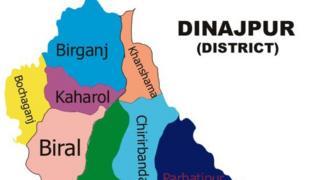 দিনাজপুরের বোচাগঞ্জ উপজেলায় হরিজন সম্প্রদায়ের বাড়িতে আগুন দেয়ার ঘটনা ঘটেছে
