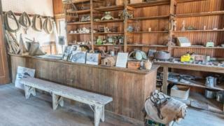 Una tienda en Cerro Gordo