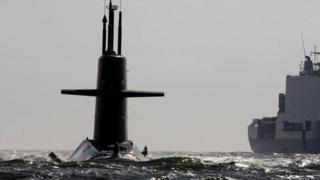 A Dutch Walrus-class submarine (file pic)