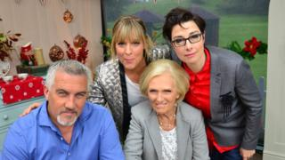 Mary Berry, Paul Hollywood, Mel Giedroyc and Sue Perkins