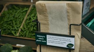 Morrisons paper bag