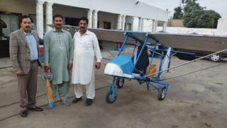 فیاض کا طیارہ