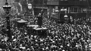 Виступ Черчилля у Манчестері