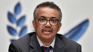 Tedros Adhanom Ghebreyesus (file photo)