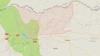 Abakatiwe bafatiwe i Kabarore, ku rubibe hagati y'u Rwanda n' u Burundi