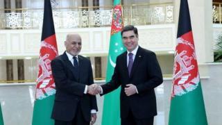 غنی په ترکمنستان کې