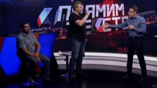 Yuriy Romanenko decides to leave the set of the live broadcast