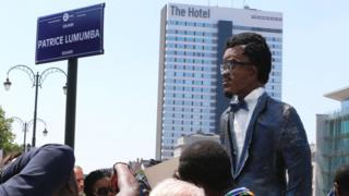 Bastion Square i Buruseri ubu yitwa Patrice Lumumba Square
