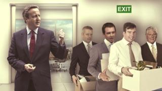 David Cameron and Welsh MPs Chris Davies, James Davies, Craig Williams and Byron Davies