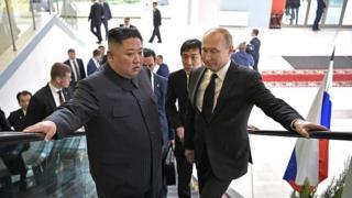 Ким и Путин
