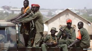 Askar ka tirsan ciidanka dawladda South Sudan