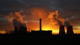 Fiddler's Ferry coal-fired power plant