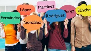 Apellidos de origen español.