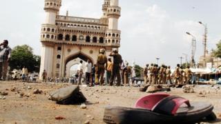 हैदराबाद मक्का मस्जिद