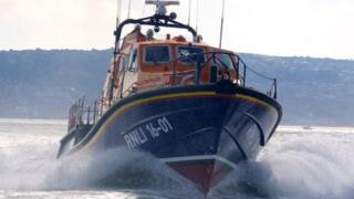St Helier's Tamar-class lifeboat