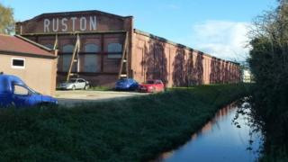 The Ruston factory in Lincoln
