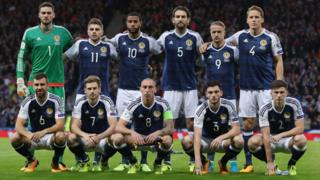 The Scotland football team