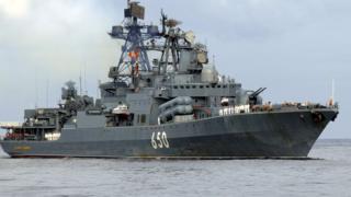 Rus gemisi - Arşiv fotoğrafı