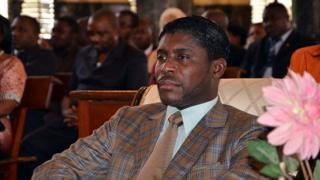 Teodorin Nguema Obiang, fils du président de la Guinée-Equatoriale, est également le vice-président du pays.