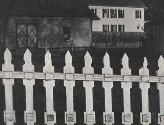 White Fence, Port Kent, New York, 1916