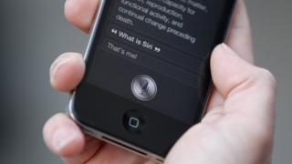 Apple virtual assistant Siri