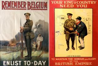WW1 posters - UK