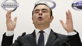 Carlos Ghosn, Nissan chief executive