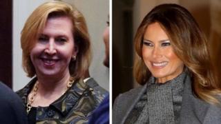 ميلانيا ترامب وميرا ريكاردل