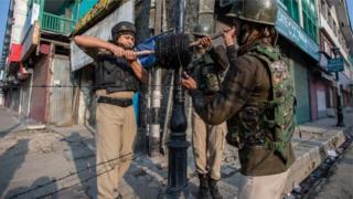 काश्मीरमधील स्थिती