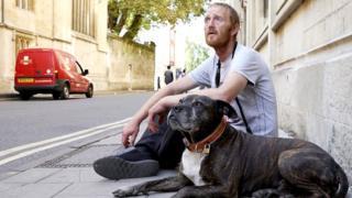 Бездомный (Терри) в Оксфорде