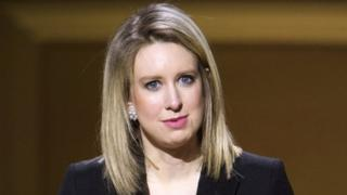 Theranos founder Elizabeth Holmes, November 2015 file picture