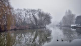 River Thames near Iffley Lock