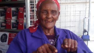 """""""Kazi ni kazi, hakuna kazi ya kufanywa na mwanamume au mwanamke,"""" anasema Cecilia"""