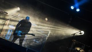 Mogwai on stage