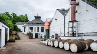 Glenturret distillery in Crieff