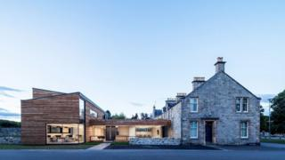 Cairngorms National Park Authority Headquarters, Grantown-on-Spey - contract value £1m (Moxon Architects Ltd for Seafield Estate)