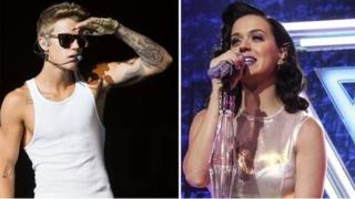 Katy Perry da Justin Bieber