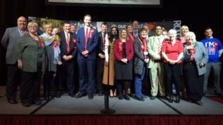 Labour councillors in Rotherham