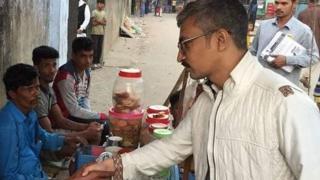 প্রচারণায় চট্টগ্রাম-১০ আসনের প্রার্থী হাসান মারুফ রুমি