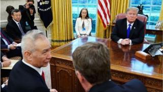 Ông Trump đã có cuộc gặp với Phó Thủ tướng Trung Quốc Lưu Hạc hôm Thứ Sáu
